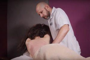 Боди массаж видео